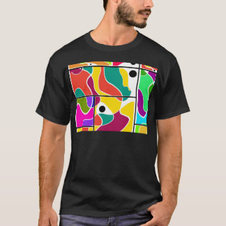 Camiseta Janelas coloridas