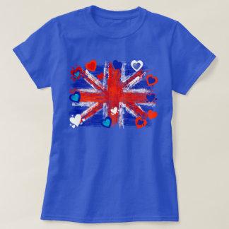 Camiseta jaque de união, jaque de união legal, amor Reino