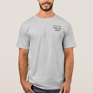 Camiseta Jaques ForkCanoe Trip2009