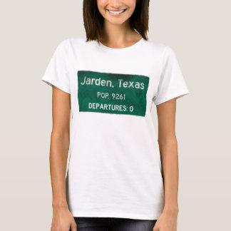 Camiseta Jarden, sinal de estrada de Texas