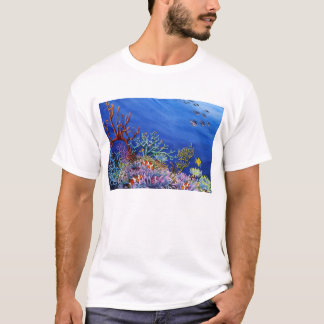 Camiseta Jardim coral