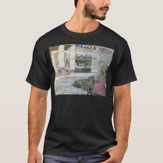 Camiseta Jardim de rocha Quase-Oriental