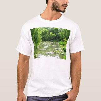 Camiseta Jardim de Waterlily por Monet