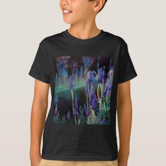 Camiseta Jardim pela lagoa no crepúsculo
