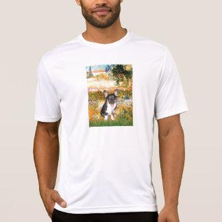 Camiseta Jardim (VG) - Corgi de Galês (tri filhote de