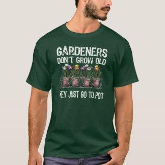 Camiseta Jardineiro idosos