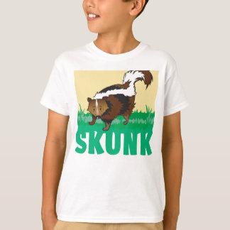 Camiseta Jaritataca amigável do miúdo
