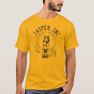 Camiseta Jaspe, Inc - cão do piloto de caça