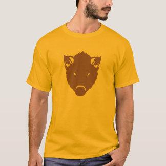 Camiseta javali selvagem