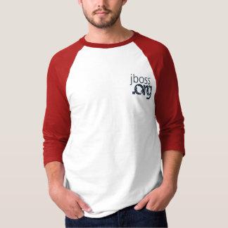 Camiseta JBoss utiliza ferramentas o Raglan abraçado 3/4 v2