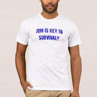 Camiseta JDM é chave à sobrevivência!!