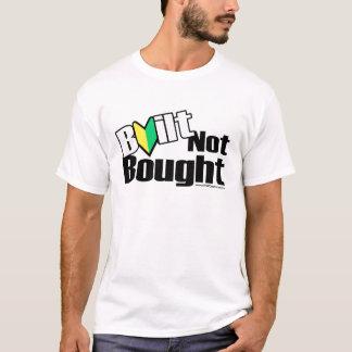Camiseta JDM não comprado construído (luz)