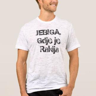 Camiseta je Rakija do gdje