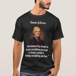 Camiseta Jefferson no governo grande
