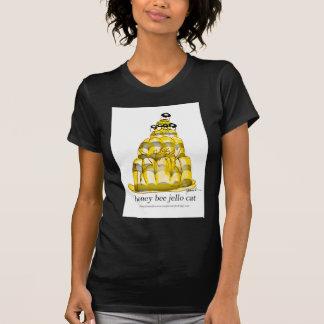 Camiseta jello da abelha do mel dos fernandes tony