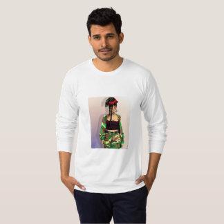 Camiseta Jérsei agradável bonito para homens