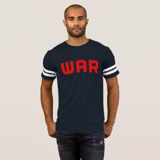 Camiseta Jérsei da guerra