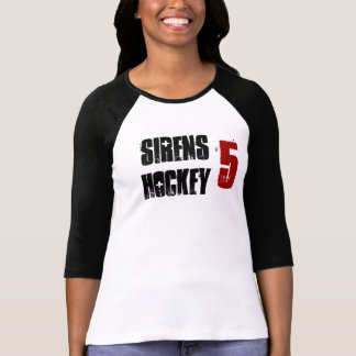 Camiseta jérsei das sirenes com número
