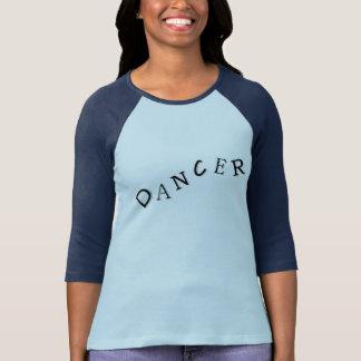 Camiseta Jérsei de basebol do dançarino