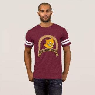Camiseta Jérsei do futebol da estrela de queda