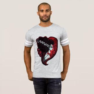 Camiseta Jérsei do futebol do borracho de Frankenstein