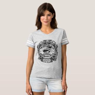 Camiseta jérsei do futebol do conselho da bruxa
