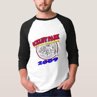 Camiseta Jérsei do parque do Ocelot