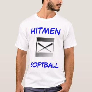Camiseta Jérsei do softball dos Hitmen