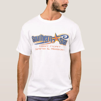 Camiseta Jérsei do sul do T-3 da estrela
