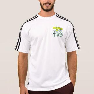 Camiseta Jérsei dos meninos do chefe