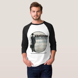 Camiseta Jérsei longo da luva do archie