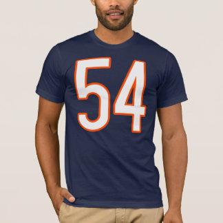 Camiseta Jérsei número 54