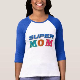 Camiseta Jérsei super da mamã
