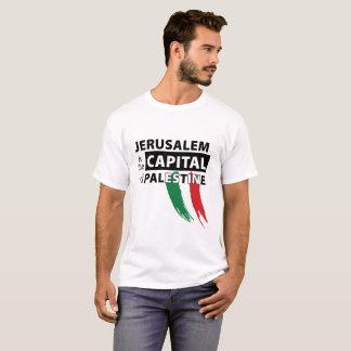 Camiseta Jerusalem é a capital do t-shirt de Palestina