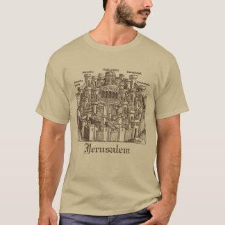 Camiseta Jerusalem, Woodcut medieval