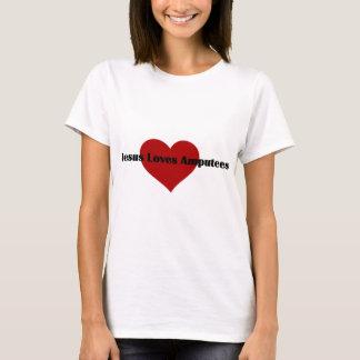 Camiseta Jesus ama amputados