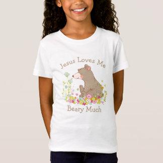 Camiseta Jesus ama-me Beary muito