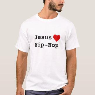 Camiseta Jesus ama o hip-hop