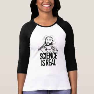Camiseta Jesus coincide - a ciência é real - - Pro-Ciência