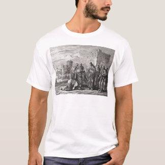 Camiseta Jesus confronta 12 apóstolos