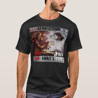 Camiseta Jesus CONTRA a satã T/shirt