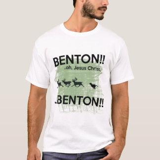 Camiseta Jesus Cristo de Benton - cão do Internet