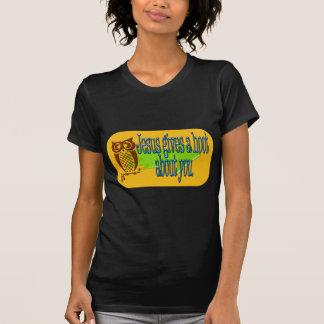 Camiseta Jesus dá a uma buzina sobre você produtos