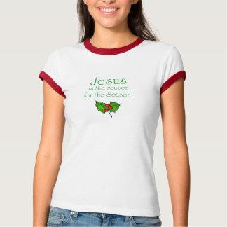 Camiseta Jesus é a razão para a estação
