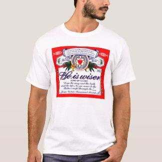 Camiseta Jesus é um t-shirt mais sábio