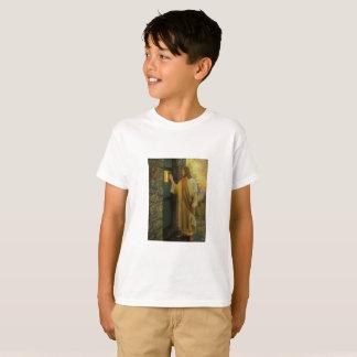 Camiseta Jesus em seu vintage da porta