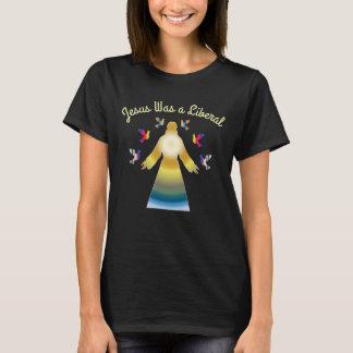 Camiseta Jesus era um liberal personalizado