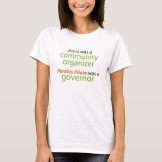 Camiseta Jesus era um organizador da comunidade