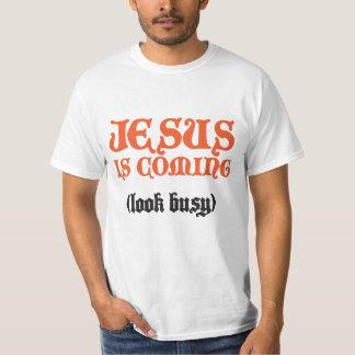 "Camiseta ""Jesus está vindo """