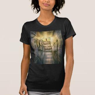 Camiseta Jesus na ressurreição vazia da páscoa do túmulo